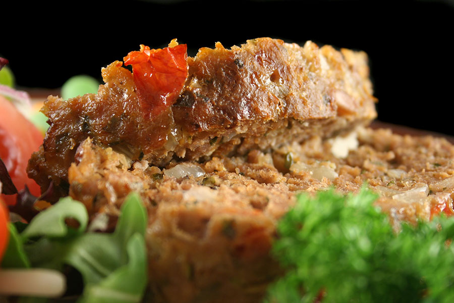 Low-Carb Beef Meatloaf