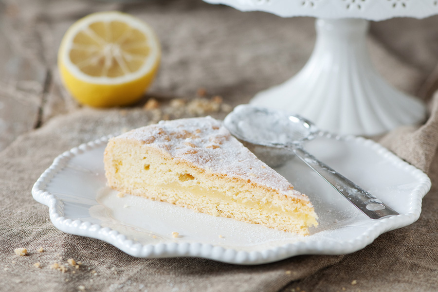 Tart Lemon Torte