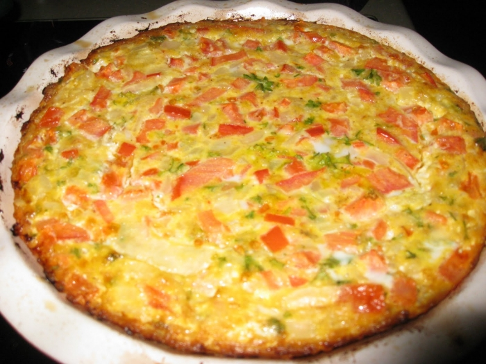 Baked Breakfast Pie