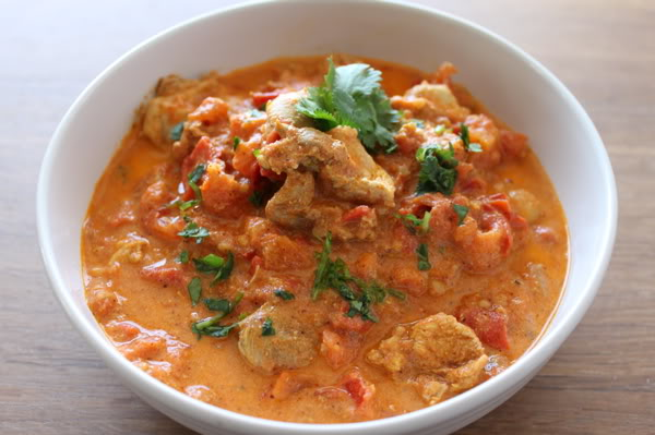 Butter Chicken in a Silky Sauce